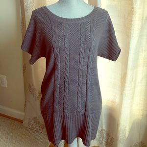 The Limited tunic in gray!